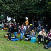 """Caan feierte erstes """"Picknick-Konzert"""""""